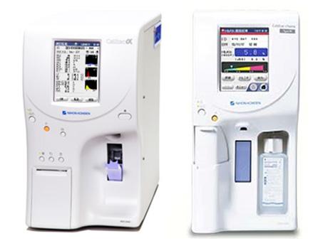 血液検査装置群